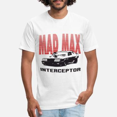 Muscle Madness Mad Max Mfp Interceptor Retro Movie V8 Car Pursuit - Unisex Poly Cotton T-Shirt