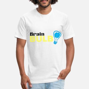 Large Hadron Collider Brain Bulb Great Gift Item - Unisex Poly Cotton T-Shirt