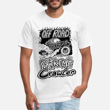Crawler Off Road Extreme Crawler.png - Unisex Poly Cotton T-Shirt