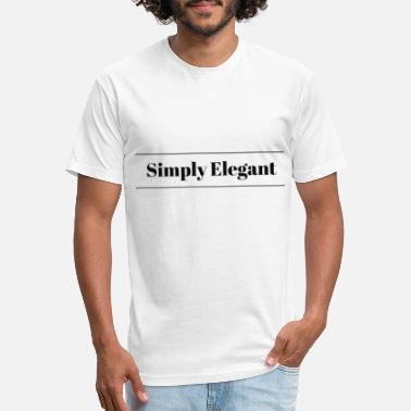 Elegant Simply Elegant - Unisex Poly Cotton T-Shirt