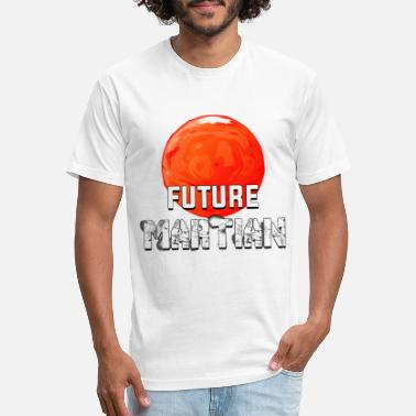 Martian Future Martian - Unisex Poly Cotton T-Shirt