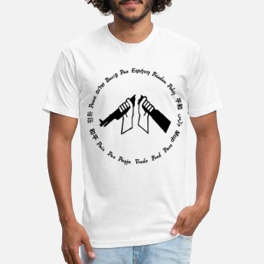 Global Peace Global Peace - Unisex Poly Cotton T-Shirt