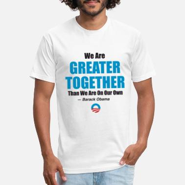 Greater Together 2 - Unisex Poly Cotton T-Shirt