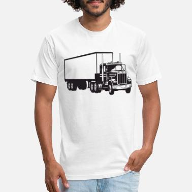 Prime Big Truck HD Design - Unisex Poly Cotton T-Shirt