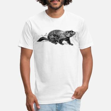 Hog Ground hog - Unisex Poly Cotton T-Shirt