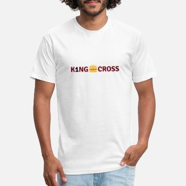 Maroon K1 Logo 5 - Unisex Poly Cotton T-Shirt