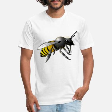 Bumble Bee Bumble Bee - Unisex Poly Cotton T-Shirt