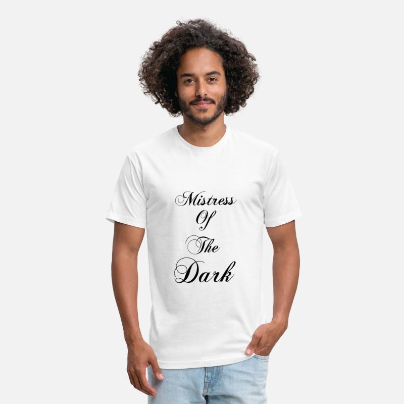 Bride T-Shirts - Mistress Of The Dark - Unisex Poly Cotton T-Shirt white