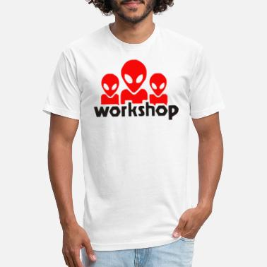 Alien Alien Workshop Logo - Unisex Poly Cotton T-Shirt