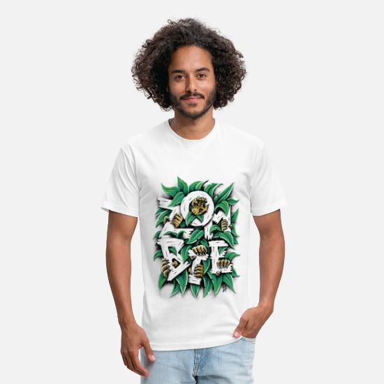Collection T-Shirts - ZOMBIE - Unisex Poly Cotton T-Shirt white