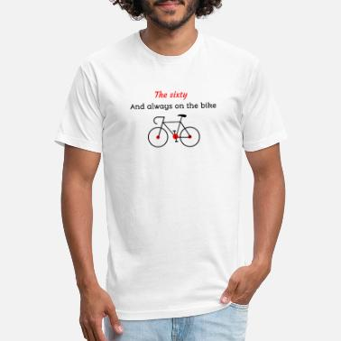Cycle The sixty and always on the bike - Unisex Poly Cotton T-Shirt