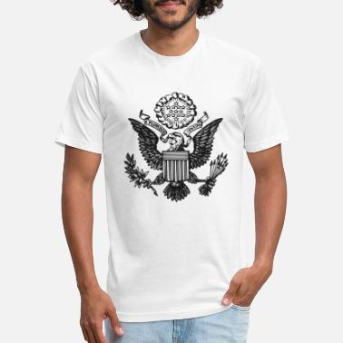Great Great Seal of the United - Unisex Poly Cotton T-Shirt