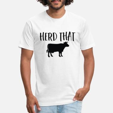 Herd Herd That - Unisex Poly Cotton T-Shirt