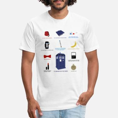 Matt Doctor Who Items - Unisex Poly Cotton T-Shirt