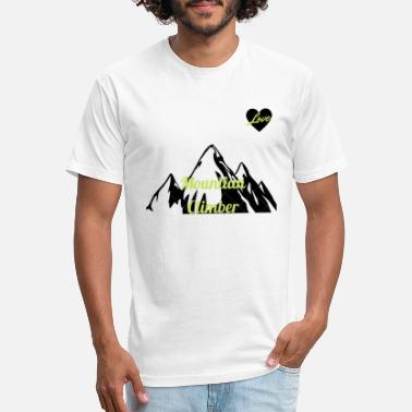 Ecocontest mountain climber adventure outdoor tshirt - Unisex Poly Cotton T-Shirt
