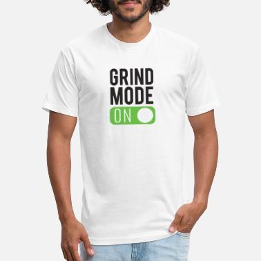 Grind Grind mode on - Unisex Poly Cotton T-Shirt