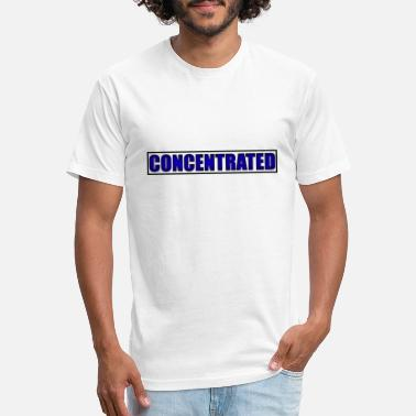 Concentration concentrated - Unisex Poly Cotton T-Shirt