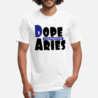 Capricorn Queen Dope Aries unapologetically - Unisex Poly Cotton T-Shirt