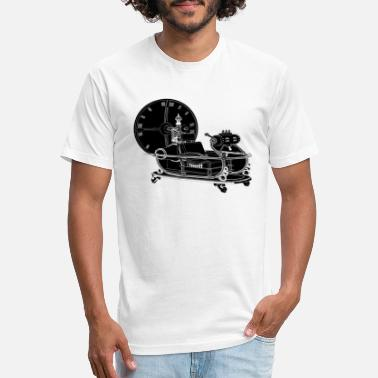 Time Machine Time Machine 10 - Unisex Poly Cotton T-Shirt