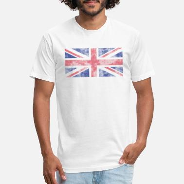 Union Jack Union Jack Grunge - Unisex Poly Cotton T-Shirt
