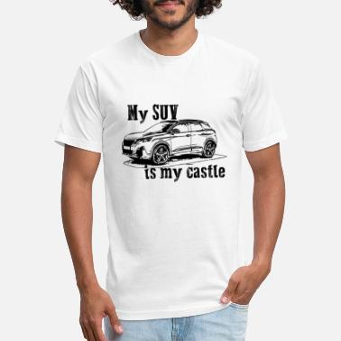 Suv #mysuvismycastle by GusiStyle - Unisex Poly Cotton T-Shirt