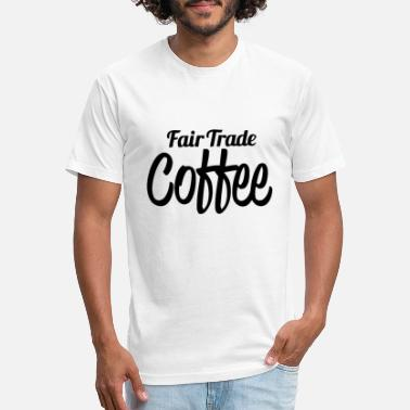 Fair Trade Coffee Cool - Unisex Poly Cotton T-Shirt