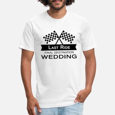 cc8707393d16a5 Bachelor Party Funny Quotes Car Racer Present - Unisex Poly Cotton T-Shirt