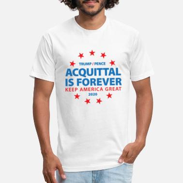 Acquittal Is Forever Trump 2020 - Unisex Poly Cotton T-Shirt