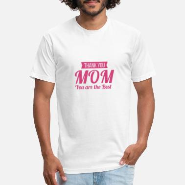 Mom, you're the best! Get awesome products... - Unisex Poly Cotton T-Shirt