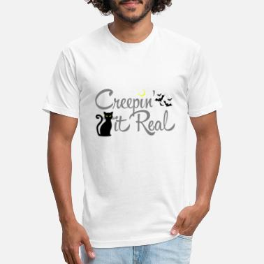 Creepin' it Real - Unisex Poly Cotton T-Shirt