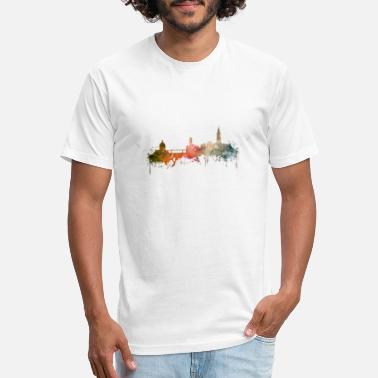 Toulouse Toulouse skyline - Unisex Poly Cotton T-Shirt