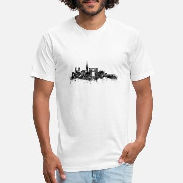 Montpellier Montpellier skyline - Unisex Poly Cotton T-Shirt