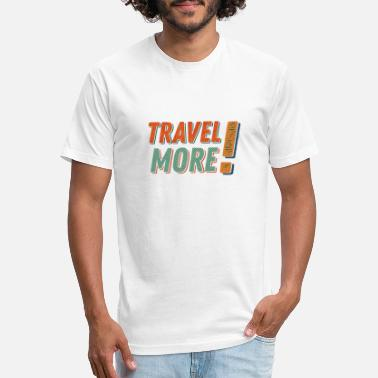 Travelling Travel more - Unisex Poly Cotton T-Shirt