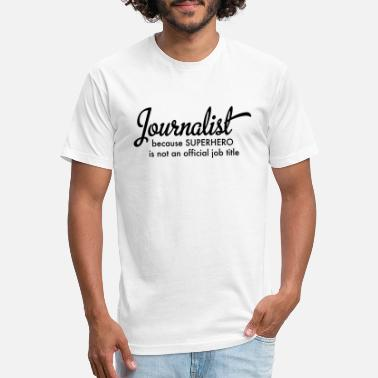 Journalist journalist - Unisex Poly Cotton T-Shirt