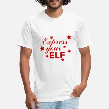 Express Your Elf - Unisex Poly Cotton T-Shirt