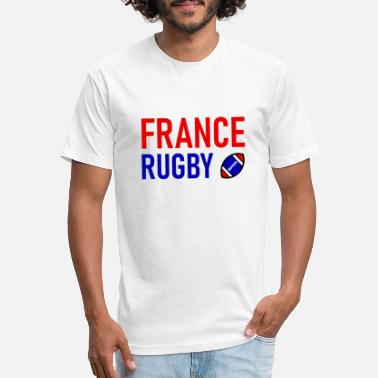 France France - Rugby - Sport - Team - Unisex Poly Cotton T-Shirt