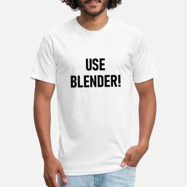USE BLENDER! - Unisex Poly Cotton T-Shirt