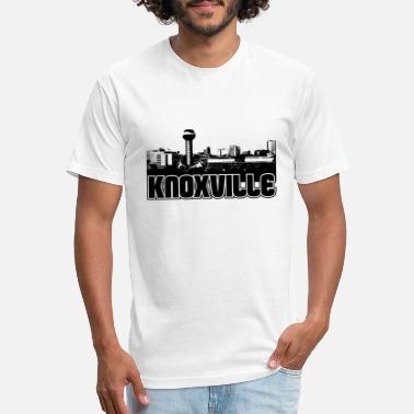 Knoxville Knoxville Skyline - Unisex Poly Cotton T-Shirt