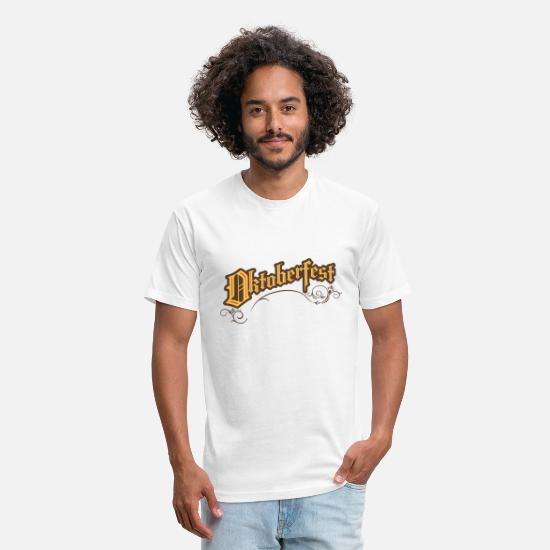 Party T-Shirts - celebration octoberfest - Unisex Poly Cotton T-Shirt white