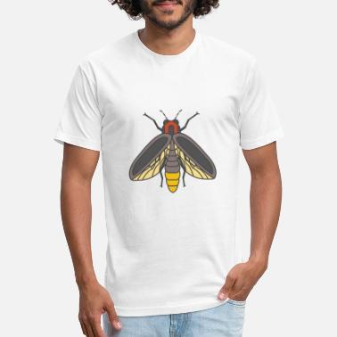 Fly Fly - Insect - Unisex Poly Cotton T-Shirt