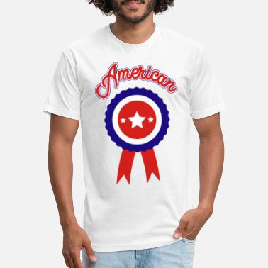 American Icon July 4th American Icon - Unisex Poly Cotton T-Shirt