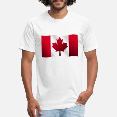 Canadian Flag Canadian flag - Unisex Poly Cotton T-Shirt