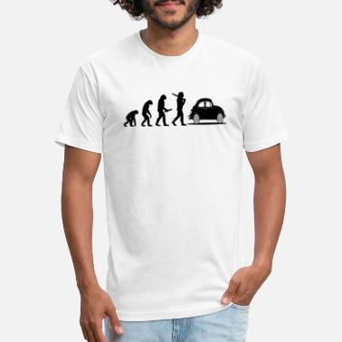 Evolution beetle car - Unisex Poly Cotton T-Shirt