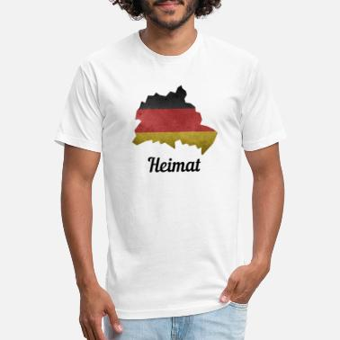 Schöneberg Germany, Hometown, Germany Flag, Berlin, Spandau - Unisex Poly Cotton T-Shirt