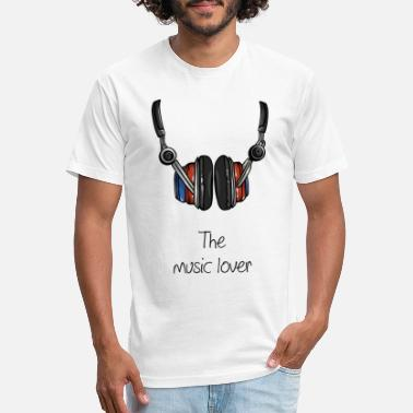 Music Lover The music lover - Unisex Poly Cotton T-Shirt