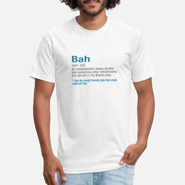 Accent Funy Bah Definiton or Bar Boston Accent design - Unisex Poly Cotton T-Shirt