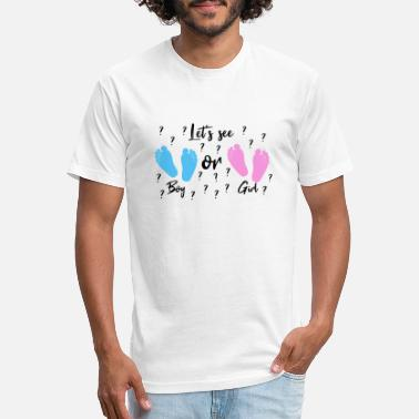Boy Or Girl Let's see Boy or Girl? - Unisex Poly Cotton T-Shirt