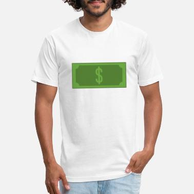 Dollar Bill Dollar bill - Unisex Poly Cotton T-Shirt