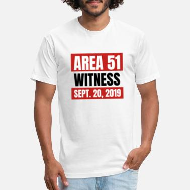 Area 51 Witness - Unisex Poly Cotton T-Shirt