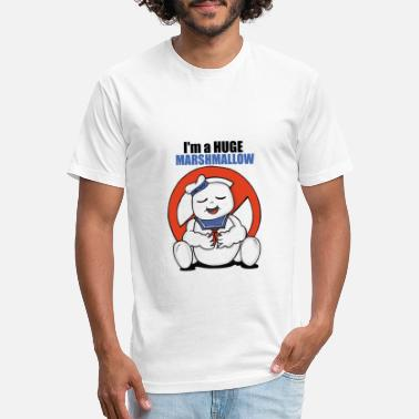 Stay Puft Ghostbusters Stay Puft - Unisex Poly Cotton T-Shirt